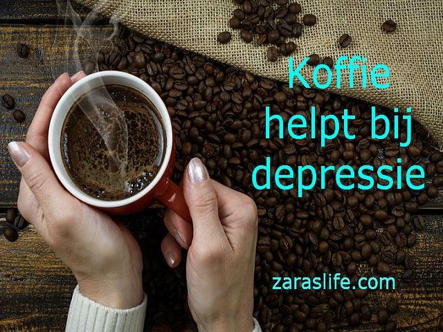 Koffie bewezen effectief tegen depressie