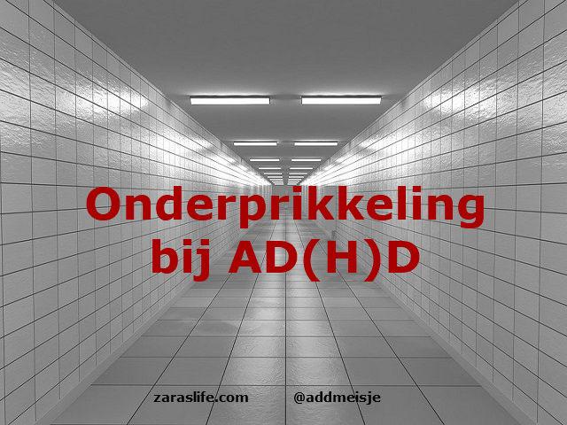 Onderprikkeling bij AD(H)D