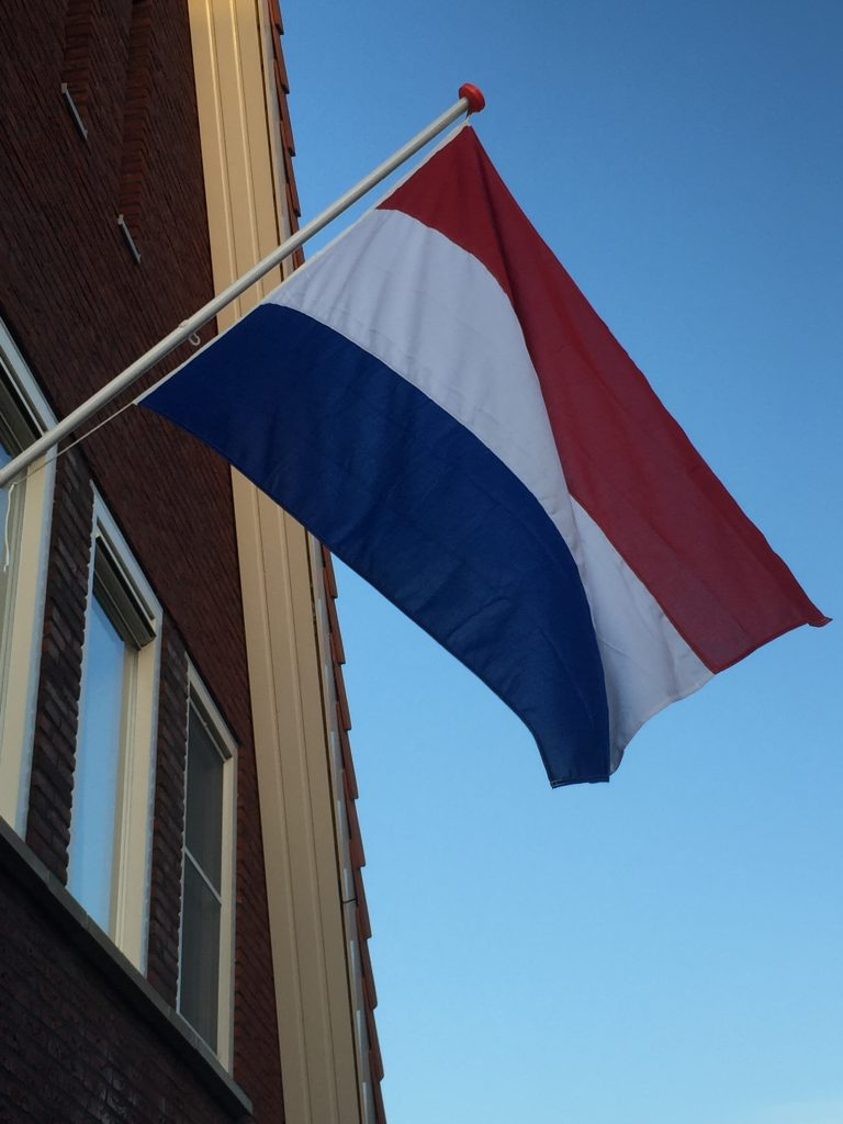 Vlag andere kant