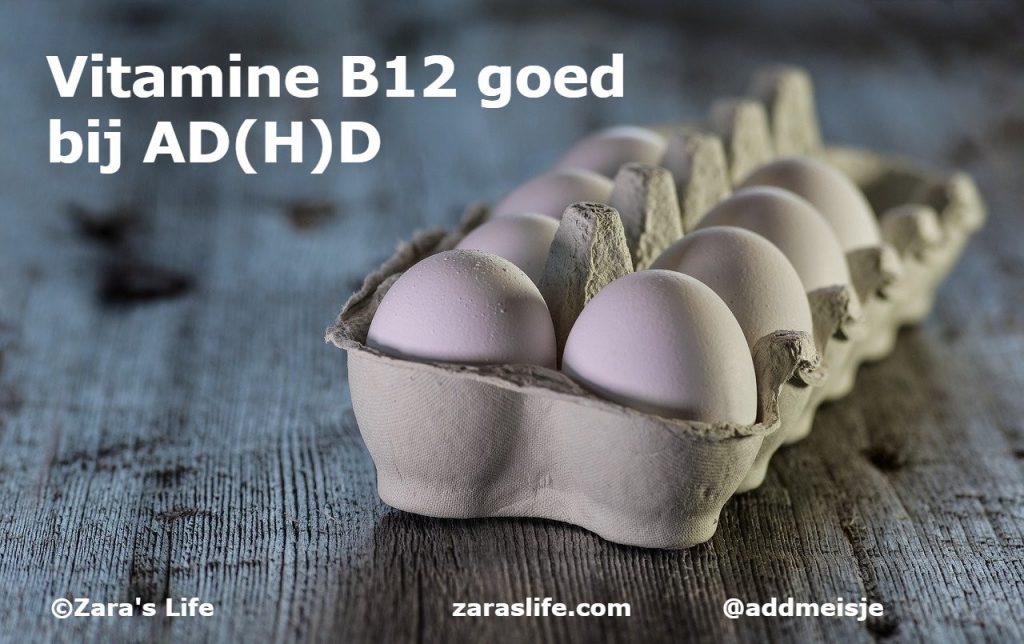 Vitamine B12 goed bij AD(H)D